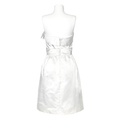 ribbon detail tube top dress 1